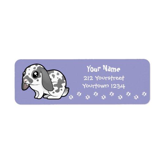 Cartoon Rabbit (floppy ear smooth hair)
