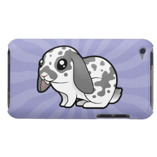 Cartoon Rabbit (floppy ear smooth hair) Barely There iPod Cover