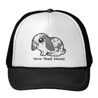 Cartoon Rabbit (floppy ear smooth hair) Cap