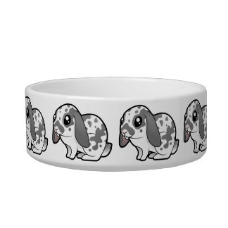 Cartoon Rabbit (floppy ear smooth hair) Cat Water Bowl