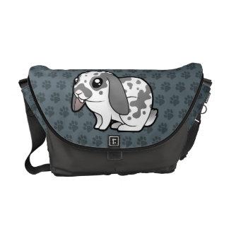 Cartoon Rabbit (floppy ear smooth hair) Commuter Bag
