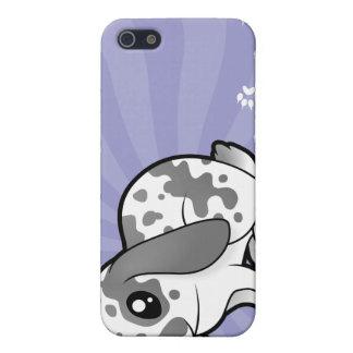 Cartoon Rabbit (floppy ear smooth hair) iPhone 5 Cases