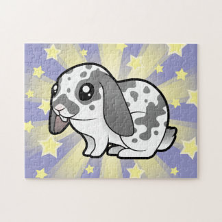 Cartoon Rabbit (floppy ear smooth hair) Jigsaw Puzzle