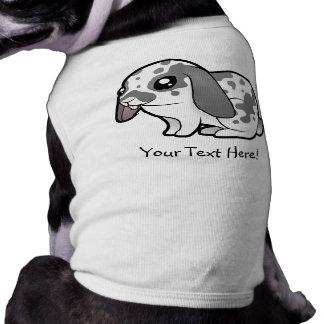 Cartoon Rabbit (floppy ear smooth hair) Sleeveless Dog Shirt