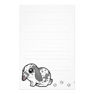Cartoon Rabbit (floppy ear smooth hair) Stationery