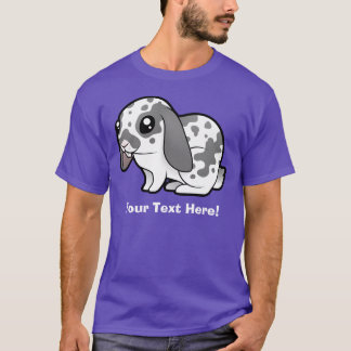 Cartoon Rabbit (floppy ear smooth hair) T-Shirt