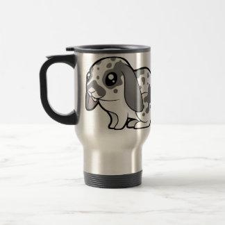 Cartoon Rabbit (floppy ear smooth hair) Travel Mug