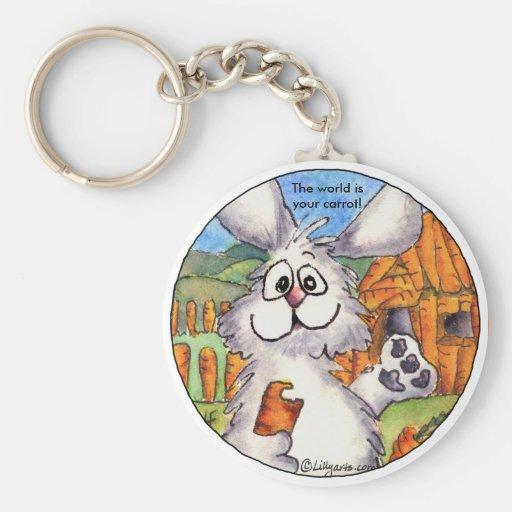 Cartoon Rabbit Fun Cute Keychains