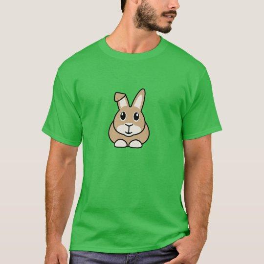 Cartoon Rabbit Men's T-Shirt