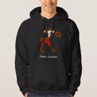 Cartoon Rabbit Michael Jordan Fan Hoodie
