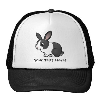 Cartoon Rabbit (uppy ear smooth hair) Cap