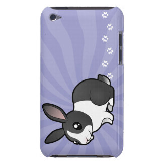 Cartoon Rabbit (uppy ear smooth hair) Barely There iPod Cases