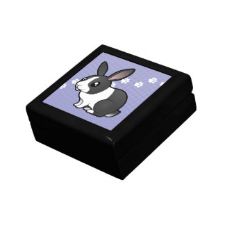 Cartoon Rabbit (uppy ear smooth hair) Gift Box