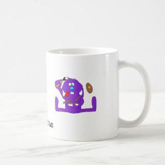 Cartoon Rabbit With Pancakes Coffee Mugs