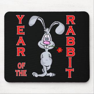 Cartoon Rabbit Yr of the Rabbit Gifts Mousepad