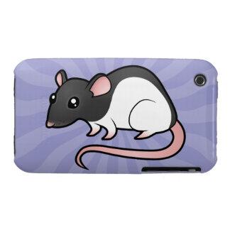 Cartoon Rat iPhone 3 Cases