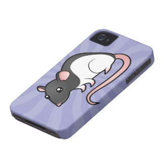 Cartoon Rat iPhone 4 Case-Mate Case