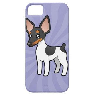 Cartoon Rat Terrier / Toy Fox Terrier iPhone 5 Case