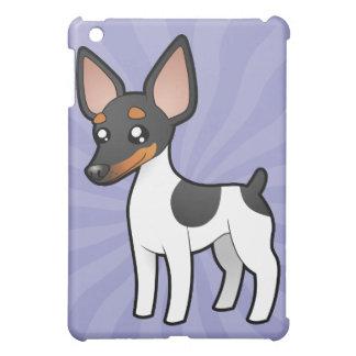 Cartoon Rat Terrier / Toy Fox Terrier Case For The iPad Mini