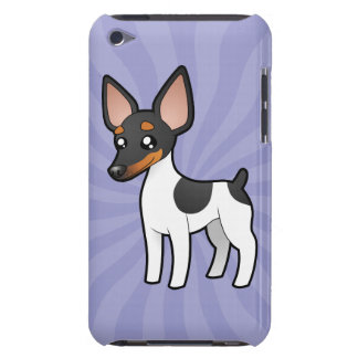 Cartoon Rat Terrier / Toy Fox Terrier iPod Touch Case