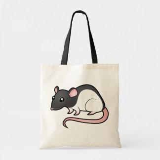 Cartoon Rat Tote Bag