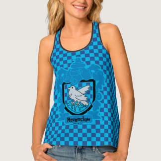 Cartoon Ravenclaw Crest Tank Top