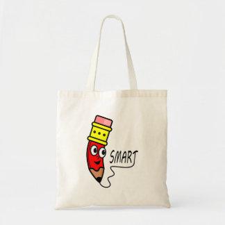 Cartoon Red Cartoon Character on Totebag Budget Tote Bag
