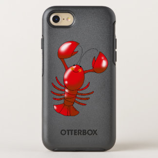 cartoon red lobster OtterBox symmetry iPhone 7 case