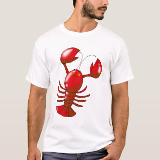 Cartoon red lobster T-Shirt