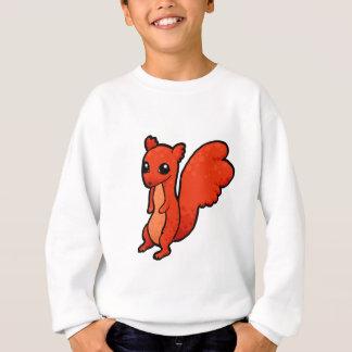 Cartoon Red Squirrel Sweatshirt