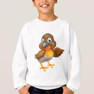 Cartoon Robin Bird Mascot Sweatshirt
