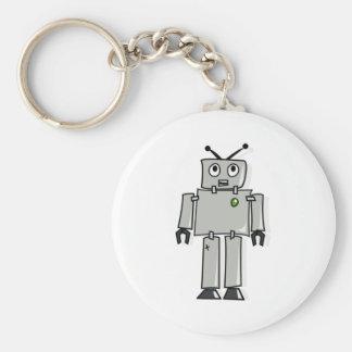 Cartoon Robot Key Ring