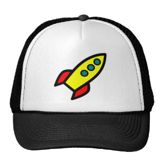 Cartoon Rocket Cap