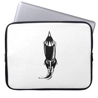 Cartoon Rocket Laptop Computer Sleeves