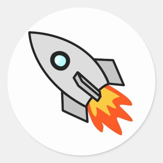 cartoon rocket ship classic round sticker zazzle co uk rh zazzle co uk rocket ship cartoon drawing rocket ship cartoon youtube