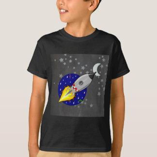 Cartoon Rocket T-Shirt