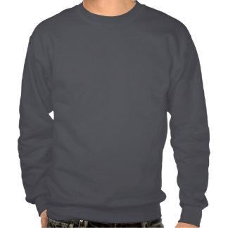 Cartoon Rocketship Pullover Sweatshirts