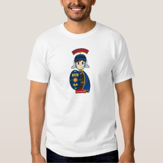 Cartoon Roman Centurion Soldier Tee Shirt