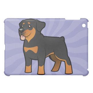 Cartoon Rottweiler Cover For The iPad Mini