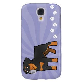 Cartoon Rottweiler Galaxy S4 Case