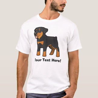 Cartoon Rottweiler T-Shirt
