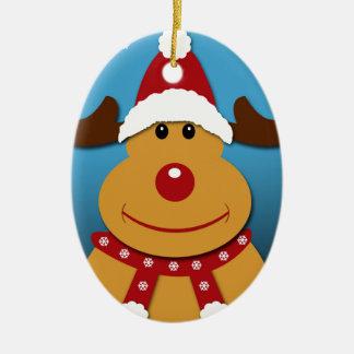 Cartoon Rudolph The Reindeer Christmas Gifts Christmas Ornament
