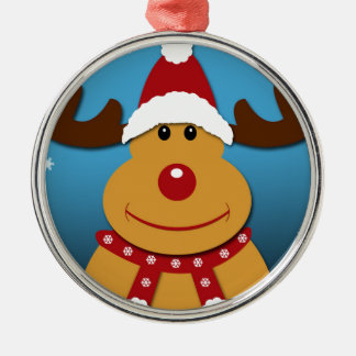 Cartoon Rudolph The Reindeer Christmas Gifts Christmas Ornament