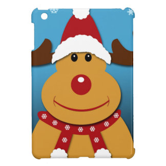 Cartoon Rudolph The Reindeer Christmas Gifts iPad Mini Cover