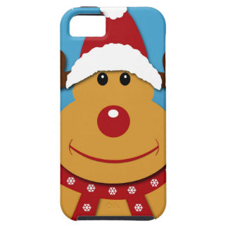 Cartoon Rudolph The Reindeer Christmas Gifts iPhone 5 Covers