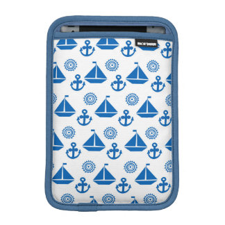 Cartoon Sail Boat Pattern iPad Mini Sleeve