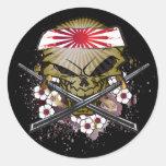 Cartoon Samurai Stickers