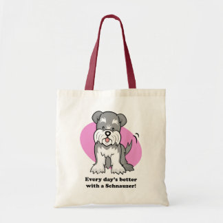 Cartoon Schnauzer Bag