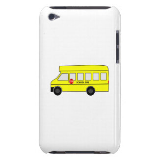 Cartoon School Bus iPod Touch Covers