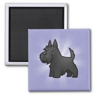 Cartoon Scottish Terrier Magnet